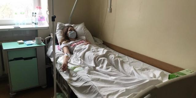 Люда Матрёнина сейчас – в больнице.