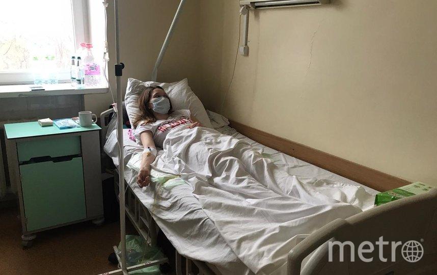 """Люда Матрёнина сейчас – в больнице. Фото предоставила Людмила Матрёнина., """"Metro"""""""