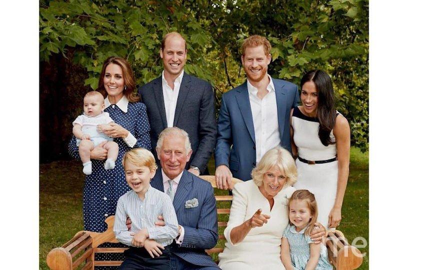 Принц Луи в окружении семьи. Фото Instagram @kensingtonroyal
