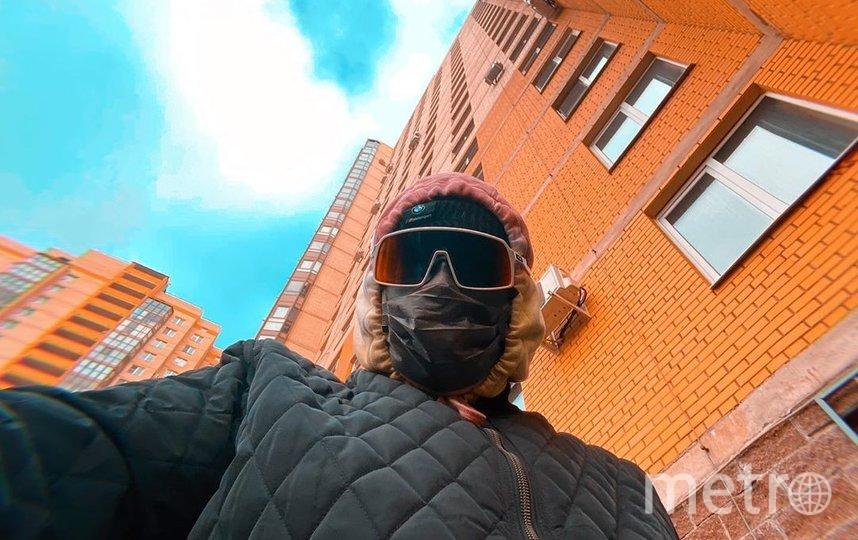В такой экипировке Ледков выходит в магазин. Фото https://www.instagram.com/stepamarsel/