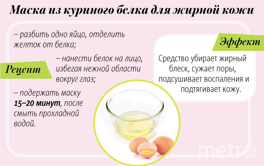 """Маска из куриного белка для жирной кожи. Фото Павел Киреев, """"Metro"""""""