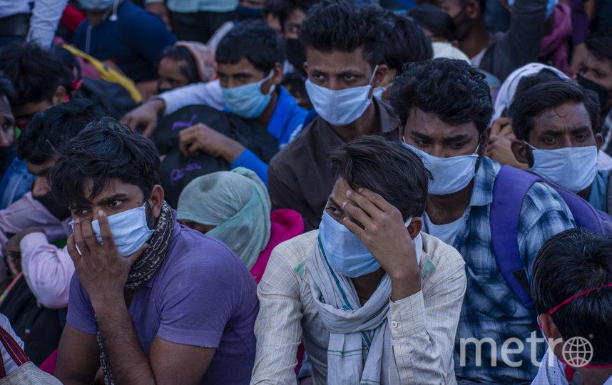 82% населения Индии может переболеть коронавирусом. Фото Getty