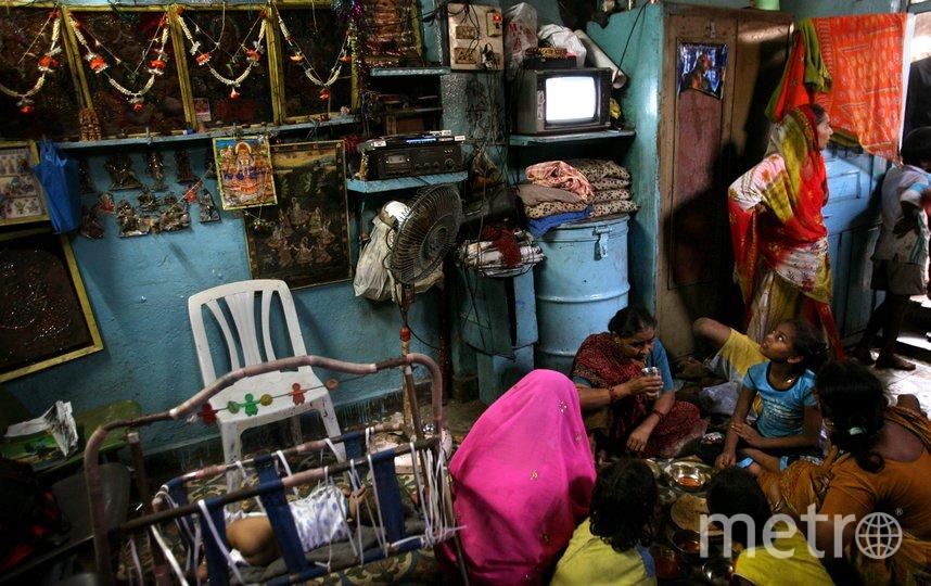 В Индии под одной крышей живут несколько поколений. Фото Getty