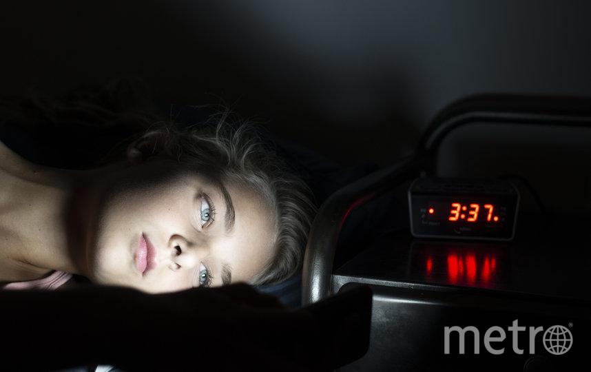 """Бессонница не даёт нормально отдохнуть ночью. Фото ISTOCK, """"Metro"""""""
