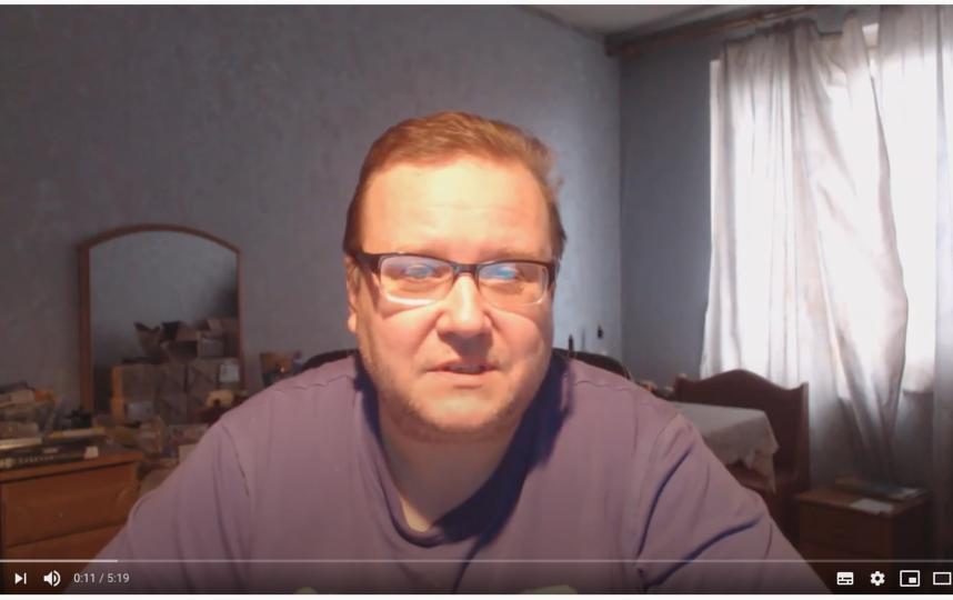 """Алексей Рощин. Фото YouTube/ Алексей Рощин, """"Metro"""""""