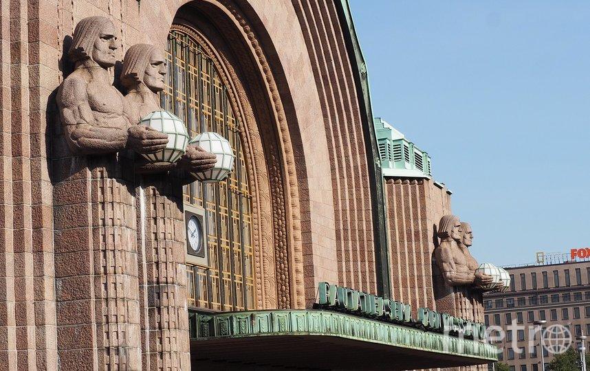 Железнодорожный вокзал Хельсинки. Фото pixabay.com