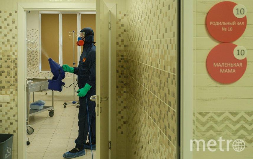 """С понедельника, 27 апреля, в Северной столице открывается после карантина один из крупнейших городских роддомов. Фото Алена Бобрович, """"Metro"""""""