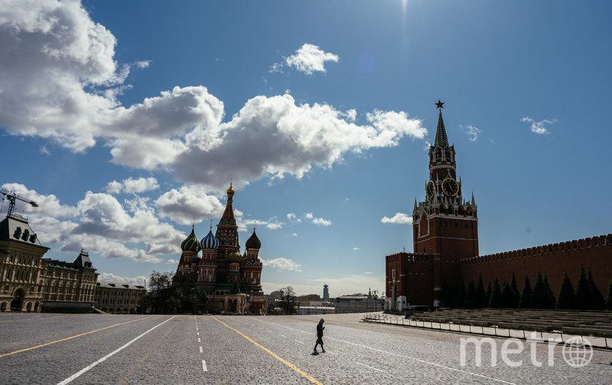 Борьба с коронавирусом в Москве в самом разгаре. Фото AFP