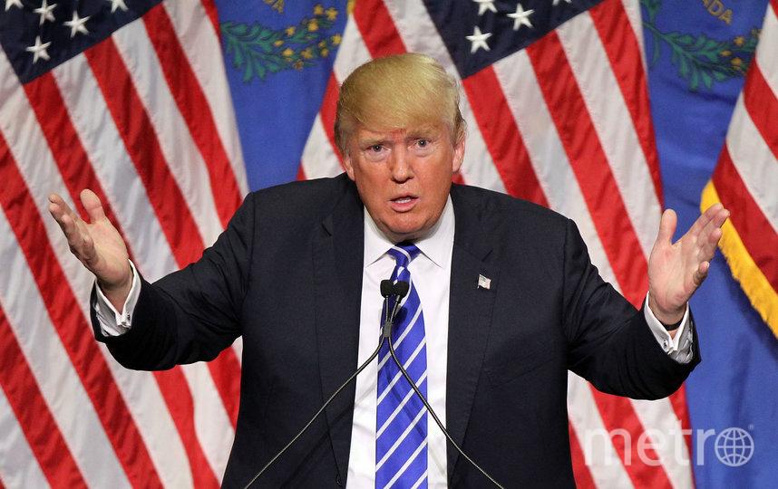 Дональд Трамп сослался на слова экспертов. Фото Getty