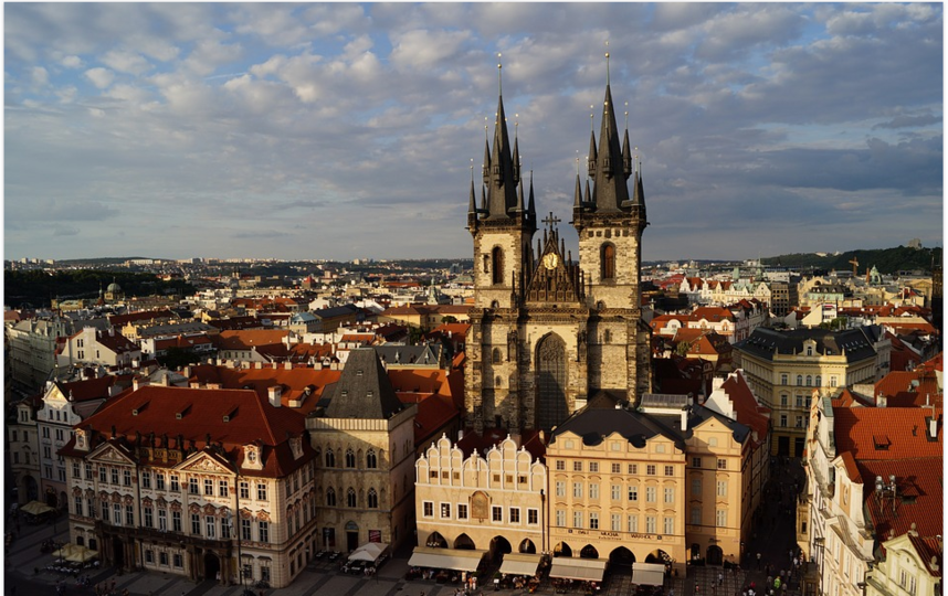 "Прага. Фото архив, ""Metro"""