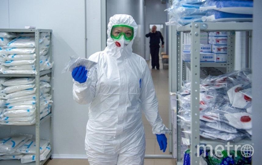 Московские медики сражаются с коронавирусом круглосуточно. Фото РИА Новости