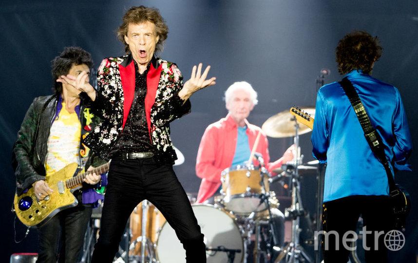 Солист группы The Rolling Stones Мик Джаггер. Фото Getty