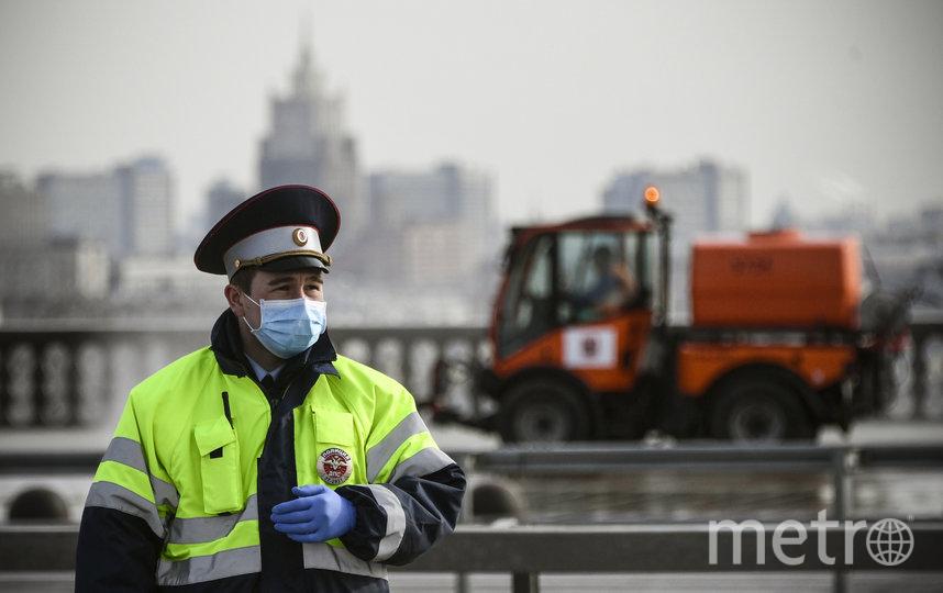 До 30 апреля все жители Москвы должны оставаться дома. Фото AFP