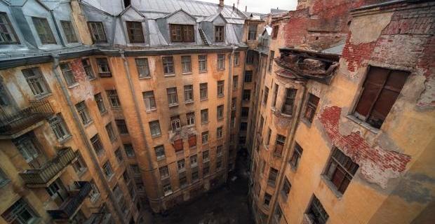 Внутренний двор Дома Басевича.
