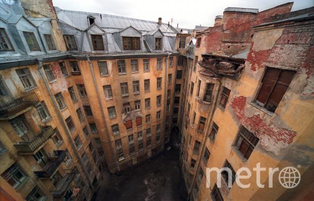 Внутренний двор Дома Басевича. Фото http://www.citywalls.ru