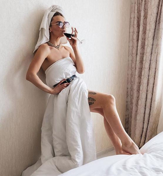 На смену подушке пришло одеяло. Фото скриншот: instagram.com/mogileva01/