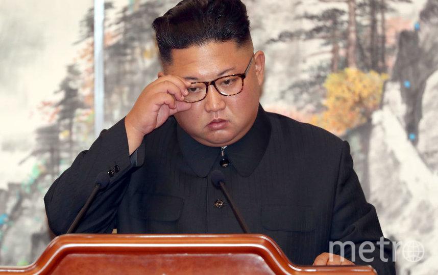 Ким Чен Ын. Фото Getty