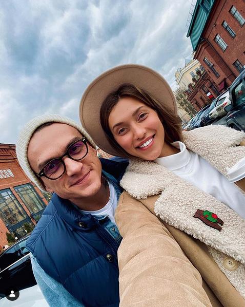 Регина Тодоренко и Влад Топалов. Фото скриншот: instagram.com/reginatodorenko/