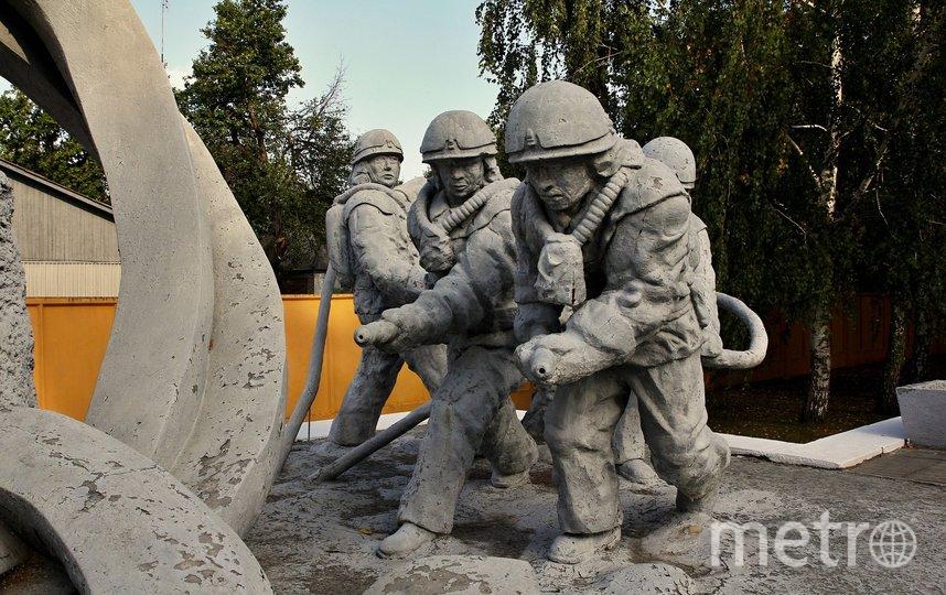 Памятник пожарным. Фото pixabay