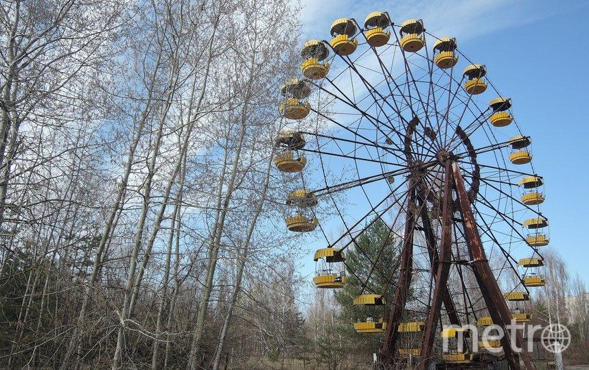 Колесо обозрения в Припяти. Фото pixabay