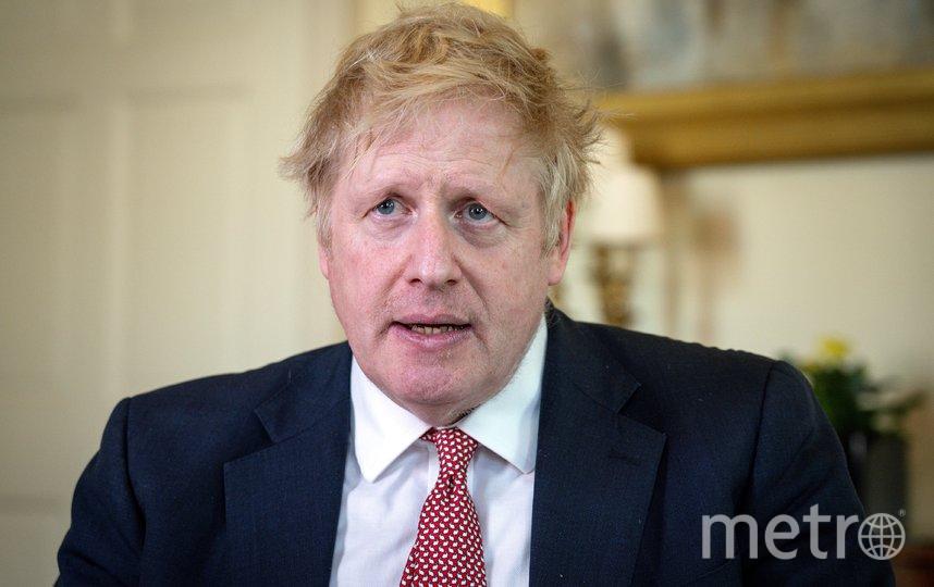 Борис Джонсон вернётся к работе 27 апреля. Фото AFP