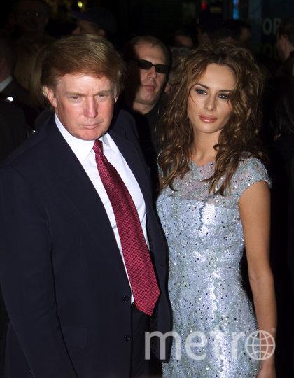 Дональд Трамп и Мелания Кнавс, 2000 год. Фото Getty