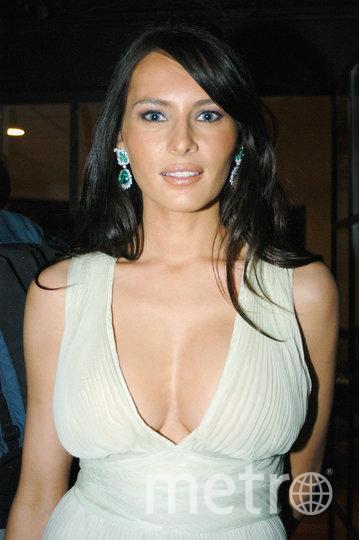 Мелания Кнавс, 2003 год. Фото Getty