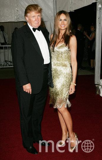 Дональд и Мелания Трамп, 2007 год. Фото Getty