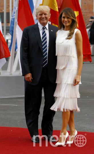 Дональд и Мелания Трамп, 2017 год. Фото Getty