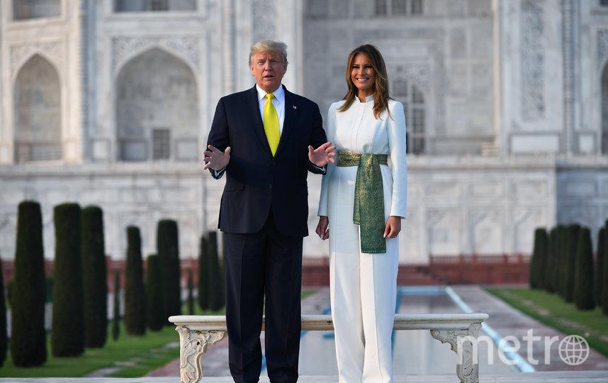 Дональд и Мелания Трамп, 2020 год. Фото AFP