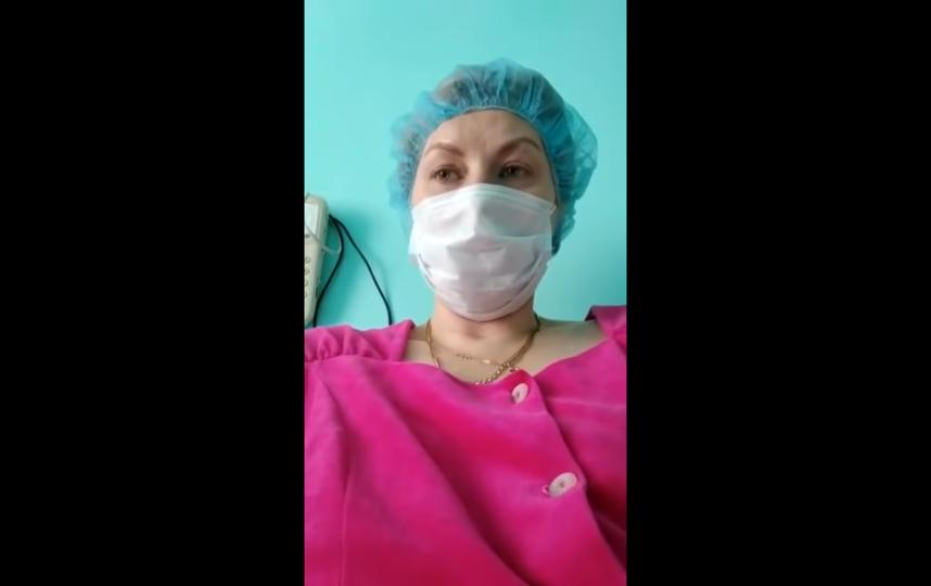 Людмила Телегина три недели находится на карантине в своей клинике. Фото Скриншот Youtube