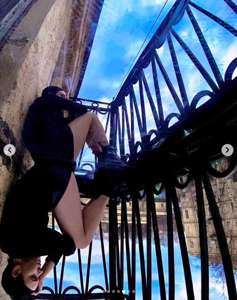 """Дрейфующий балкон"". Фото Скриншот Instagram: @liza_dandy"