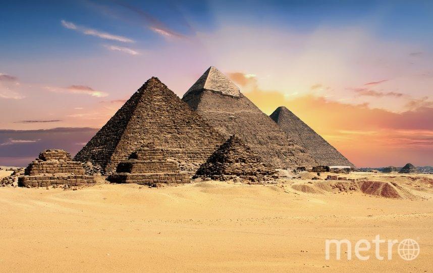 """Пирамиды Египта знает весь мир. Фото pixabay.com, """"Metro"""""""