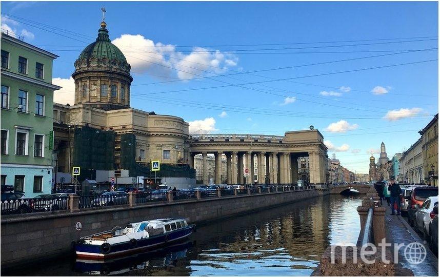 """Восточный фасад реставрировали 2 года. Фото  kgiop.gov.spb.ru, """"Metro"""""""