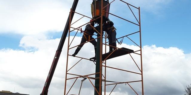 Реставрационные работы займут около полутора лет.