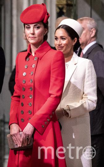 Меган Маркл и Кейт Миддлтон. Фото Getty