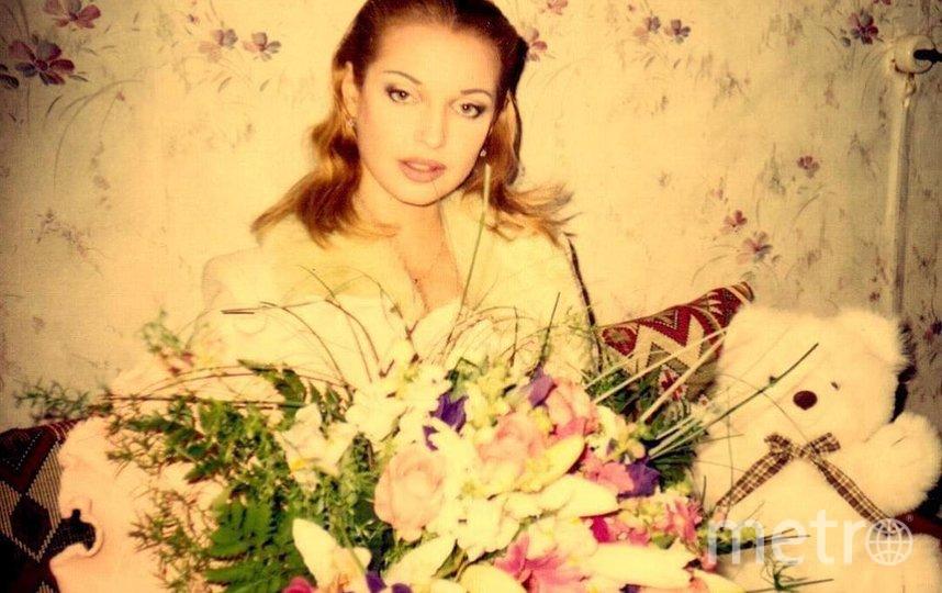 Анастасия Волочкова, ретро-фотография. Фото Скриншот Instagram/volochkova_art