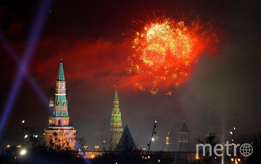 """Салют состоится, несмотря на отмену парада. Фото Агентство """"Москва"""""""