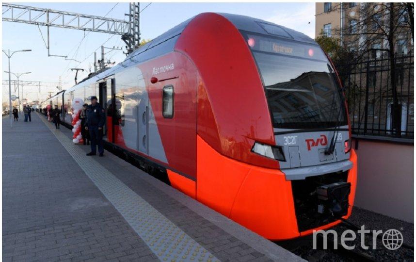 """Число электричек увеличат на майские праздники. Фото lenobl.ru, """"Metro"""""""