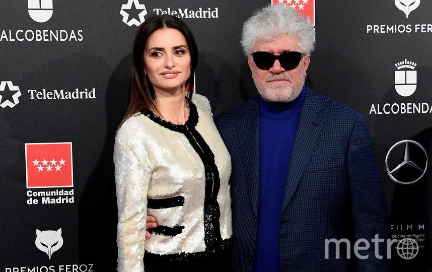 """Пенелопа в дружеских отношениях с испанским режиссёром Педро Альмодоваром. Они знакомы почти двадцать лет. Фото getty, """"Metro"""""""