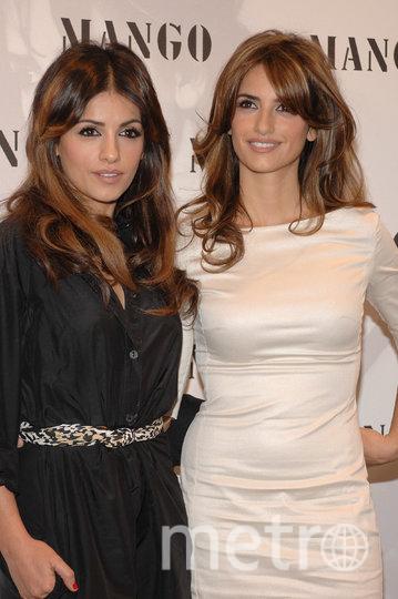 """Актриса с сестрой Моникой. Фото getty, """"Metro"""""""
