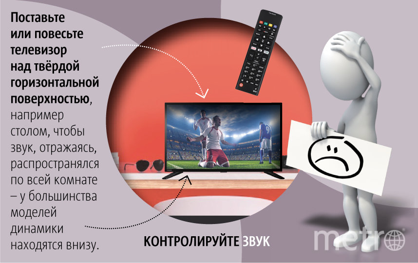 "Рекомендации по просмотру телевизора. Фото Павел Киреев, ""Metro"""