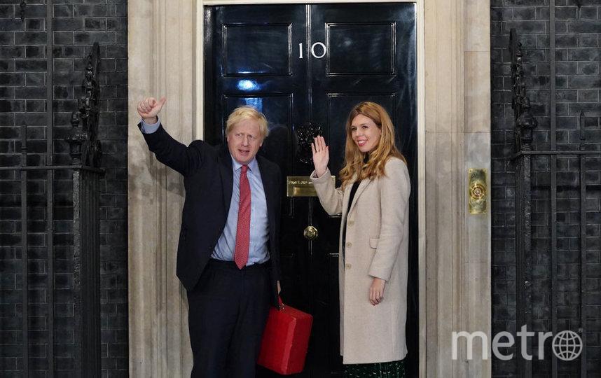 Борис Джонсон и Кэрри Саймондс. Фото Getty