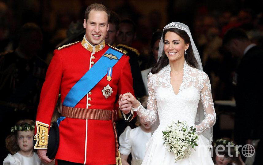 Свадьба Кейт Миддлтон и принца Уильяма состоялась 29 апреля 2011 года. Фото Getty