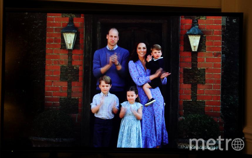 Семья Кейт Миддлтон и принца Уильяма в апреле 2020. Фото Getty