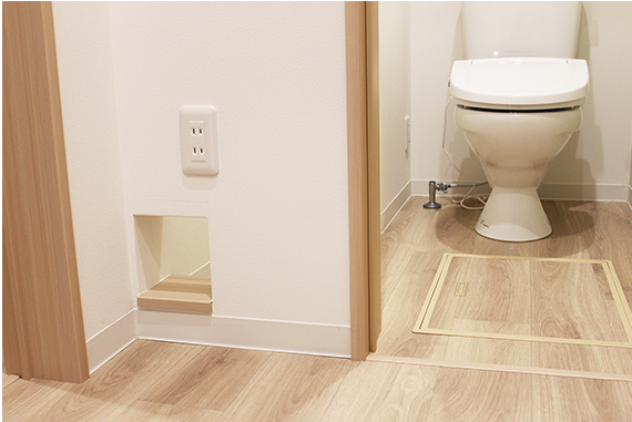 "Кошачий туалет. Фото https://www.nekobu.com/, ""Metro"""