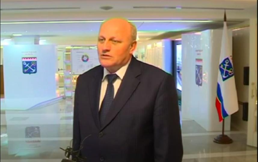 Вице-губернатор Ленобласти Николай Емельянов. Фото Скриншот Youtube