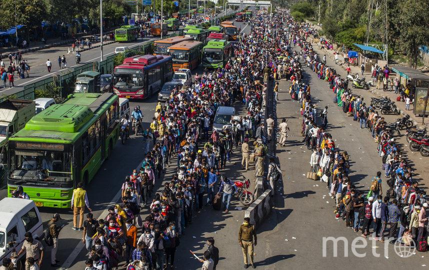 Власти Индии надеются на выработку коллективного иммунитета. Фото Getty