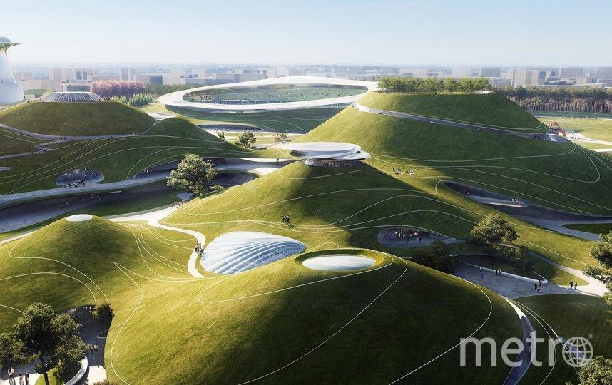 """Холмы будут выполнять функцию парка. Фото i-mad.com, """"Metro"""""""