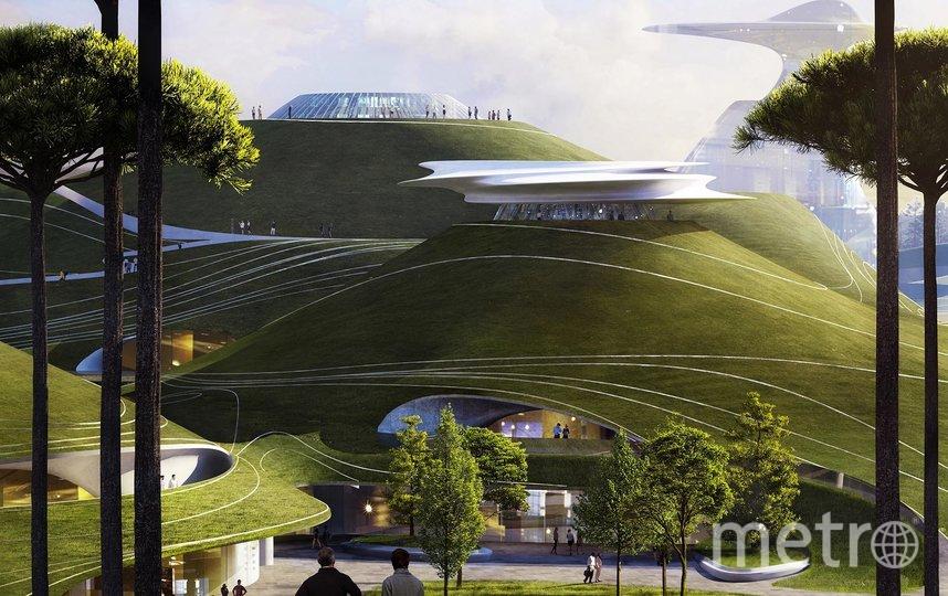 "Людям будет удобно и внутри, и снаружи комплекса. Фото i-mad.com, ""Metro"""